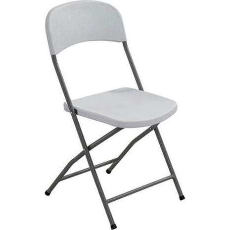 Kαρέκλα πτυσσόμενη STREAMY PP Λευκή Ε-00012167(Ε501) (Λευκό)