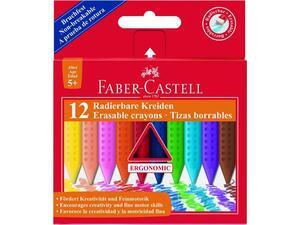 Κηρομπογιές Faber Castell Ergonomic 12 τεμάχια
