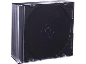 Θήκη CD Slim Esperanza Μαύρη (1τεμάχιο)
