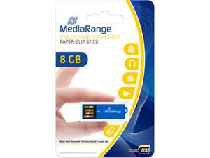 Mediarange flash drive 8GB USB 2.0 Nano Parer Clip Stick mr975