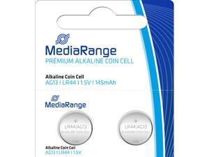 Αλκαλικές μπαταρίες MediaRange Premium Coin Cells AG13 (LR44) 1.5V  (2 τεμάχια)