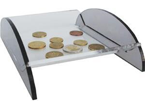 Δίσκος κερμάτων ταμείου ακρυλική