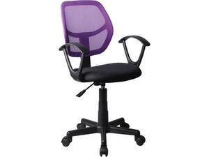 Καρέκλα γραφείου Mesh Μωβ/Μαύρο BF2740  [Ε-00018736] ΕΟ526,6