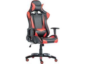 Πολυθρόνα γραφείου διευθυντή PU BF8050 (Gaming) Μαύρο/Κόκκινο [Ε-00018615] ΕΟ577 (Μαύρο)