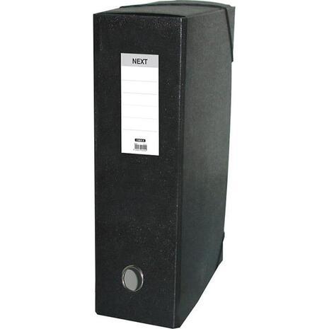 Κουτί αρχειοθέτησης με λάστιχο Next 25x35x8cm μαύρο