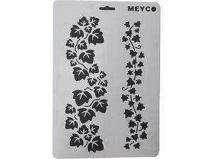 Στένσιλ Meyco A4 πολυπροπυλένιου Κισσός