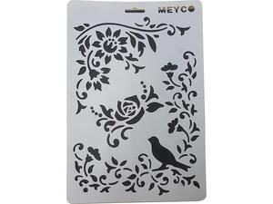 Στένσιλ Meyco A4 πολυπροπυλένιου Πουλάκι