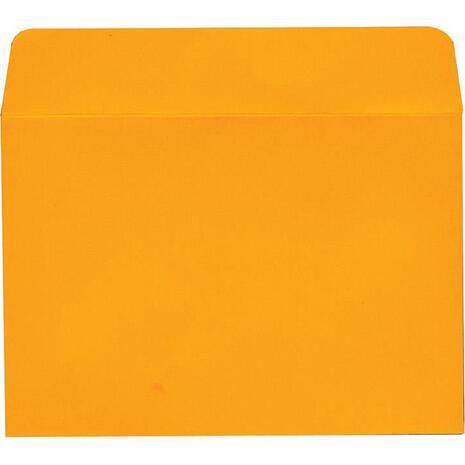 Φάκελος Αλληλογραφίας 13x18cm Πορτοκαλί (1 τεμάχιo) (Πορτοκαλί)