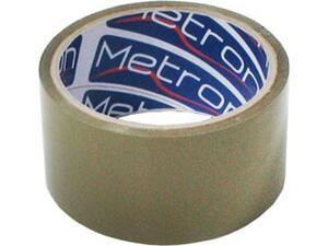 Κολλητική Ταινία Συσκευασίας Metron Αθόρυβη  48mmx50m καφέ