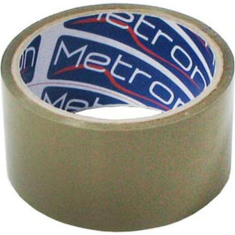 Κολλητική Ταινία Συσκευασίας Metron Θορυβώδης 48mmx50m καφέ