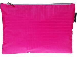 Τσαντάκι Φούξια με φερμουάρ A4 34x24,5cm