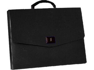 Τσάντα σχεδιού 26Χ35Χ5 μαύρη Metron