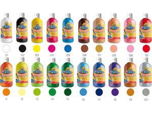 Τέμπερα Carioca 500 ml σε διάφορα χρώματα
