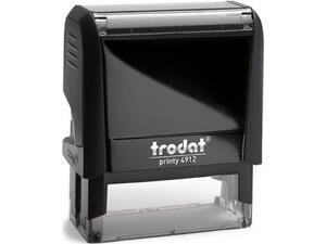 Μηχανισμός σφραγίδας trodat 4912 μαύρο ταμπόν