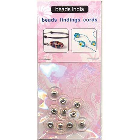 Κούμπωμα για σκουλαρίκι ασημί 11x6mm.