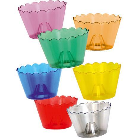 Κηροστάτης πλαστικός διάφορα χρώματα