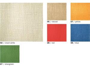 Λινάτσα EFCO 1x1m σε διάφορα χρώματα
