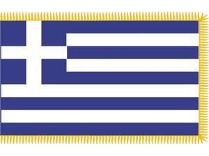 Σημαία Ελληνική Παρέλασης 0.90x1.50m με κρόσια