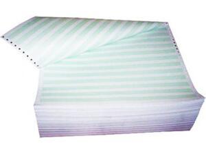 Μηχανογραφικό χαρτί 11x15 μονό πράσινο