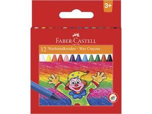 Κηρομπογιές Faber Castell 12 τεμάχια