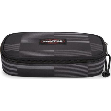 Κασετίνα οβάλ EASTPAK Single Startan Black (71735T)
