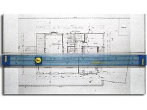 Πινακίδα Γραμμικού Σχεδίου & Παραλ/λο με ανάκληση 60x80 (σετ σχεδίου) Νο2207