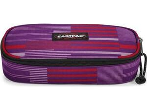 Κασετίνα οβάλ EASTPAK Single Startan Pink (71734T)