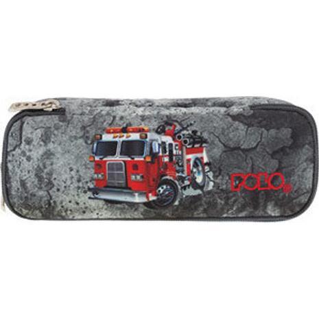 Κασετίνα οβάλ POLO Atomic Fire Truck (9-37-229-09)
