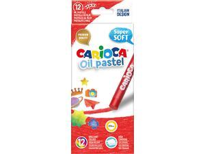 Λαδοπαστέλ CARIOCA Super Soft (12 τεμάχια) (Διάφορα χρώματα)