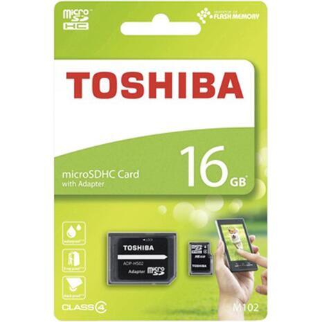 Κάρτα Μνήμης TOSHIBA MicroSDHC 16GB