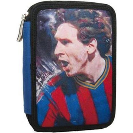 Κασετίνα γεμάτη διπλή Back Me Up Messi (338-83100)