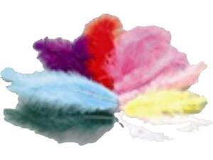 Φτερά EFCO 2gr Marabou σε διάφορα χρώματα