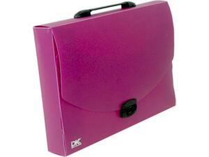 Τσάντα σχεδιού PP DataKing  28x38x5 μωβ