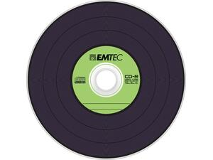 CD-R 80' EMETC Vinyl Look 80min/700MB 52x