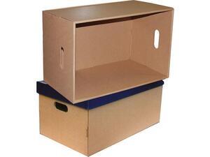 Κουτί αρχειοθέτησης απο χαρτόνι Next με χρωματιστό καπάκι Α3 66x31x40cm