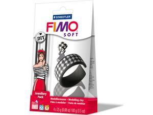 Σετ STAEDTLER FIMO-SOFT κοσμημάτων black&white