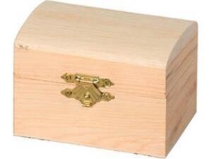 Μπαούλο ξύλινο ARTEMIO 8,5x6x6cm