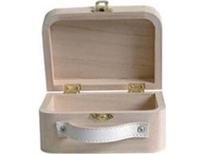 Βαλιτσάκι Ξύλινο ARTEMIO 13x10x6cm