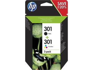 Μελάνι εκτυπωτή HP No301 Combo 2 Pack N9J72AE