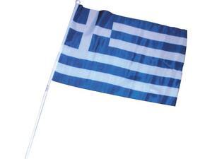 Σημαία Ελληνική Πλαστική 30x45cm