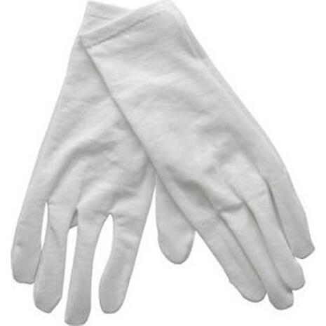 Γάντια παρέλασης λευκά κοντά