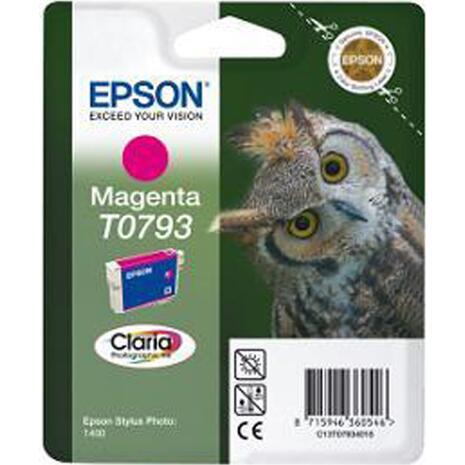 Μελάνι εκτυπωτή EPSON T0793 Magenta C13T07934010 (Magenta)
