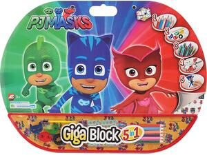 Σετ ζωγραφικής GIGA BLOCK 5 σε 1 PJ Masks 62711