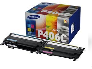 Toner εκτυπωτή SAMSUNG P406C Value Pack (BL/CYAN/YELL/MAG)