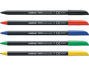 Μαρκαδόρος ανεξίτηλος EDDING 1200 0.5-1mm σε διάφορα χρώματα