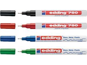 Μαρκαδόρος ανεξίτηλος EDDING 780 σε διάφορα χρώματα