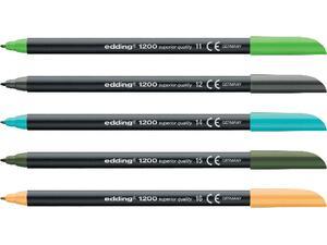 Μαρκαδόρος ανεξίτηλος EDDING 1200 1.00mm σε διάφορα χρώματα