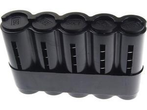 Κερματοθήκη ευρώ 13x8.3cm μαύρη πλαστική