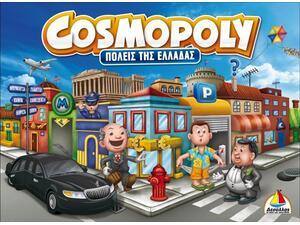 Επιτραπέζιο  Cosmopoly Πόλεις της Ελλάδας (100556)