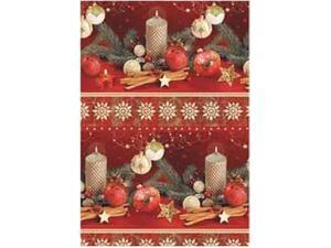 Χαρτί περιτυλίγματος ρολό 70x100cm Χριστουγεννιάτικα Μοτίβα